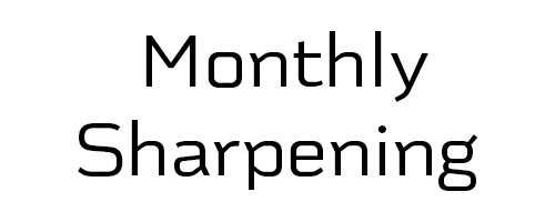 monthly shear sharpening